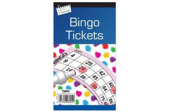 Jumbo Bingo Book / Pad 480 Tickets. 6 to View  .  Big, bold, easy to read numbers) by Concept4u