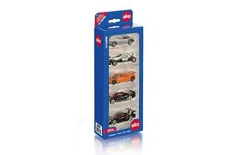 Siku 1:220 Sports Cars 5 Gift Set