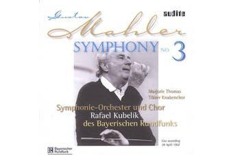 Mahler: Symphony no 3 / Kubelik, Thomas, Bavarian RSO, et al