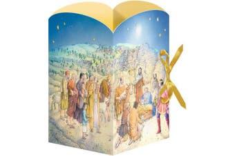The Lantern Nativity Advent Calendar - 24 doors Coppenrath - Traditional German Advent calendar -