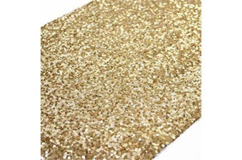 (trlyc gold) - TRLYC Gold Sparkly Sequin Table Runner for Wedding/Party -30cm *180cm