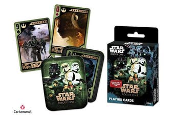 Cartamundi 100199127 Star Wars Rogue One Playing Cards in Collectors Tin