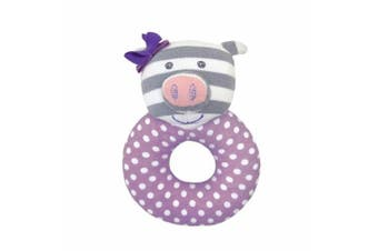 Organic Farm Buddies Farm Friends Penny The Piggy Rattle by Organic Farm Buddies