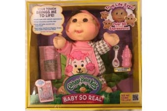 Cabbage Patch Kids 36cm Baby So Real Brunette