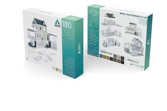 (A180) - Arckit 180 Architect Model Building Kit (350 Piece)
