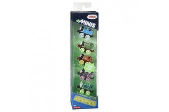 Thomas & Friends Minis Glow in the Dark Set of 5 Trains by Thomas & Friends