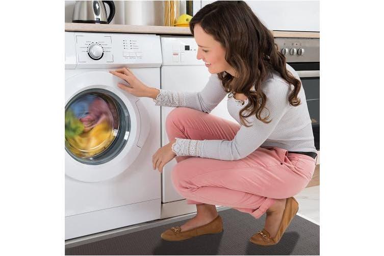 (50cm  x 80cm , Mocha Brown) - Royal Anti-Fatigue Comfort Mat - 50cm x 80cm x 1.9cm Thick Cushioned - Multi Surface All-Purpose Luxurious Comfort - For Kitchen, Bathroom or Workstations - (50cm x 80cm , Mocha Brown)