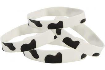 RUBBER COW PRINT BRACELETS - Jewellery - 12 Pieces