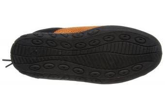 (36, Black / Orange) - Beco Badeschuh Unisex Adult Surf Shoes