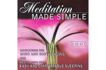 Meditation Made Simple: Meditations for Mind and Body Healing/Meditations for Easy and *