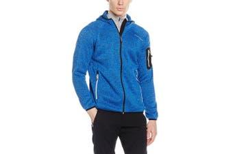 (58, blue - strong blue) - Black Crevice Men's Fleece Jacket