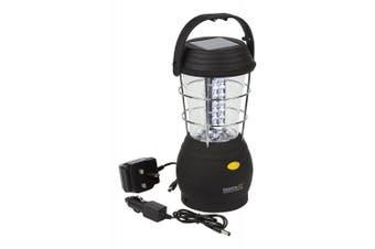 (EU) - Regatta Helia 36 Solar Lantern - Black