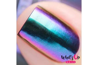 (Paradise Powder) - Whats Up Nails - Paradise Powder Magic Colour Shifting Pigment with Multi Chrome Mirror Effect