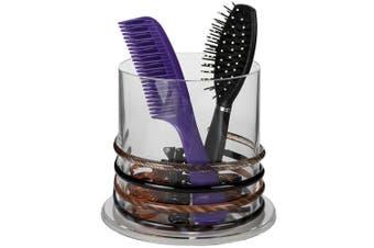 Arad Stackable Premium Quality Acrylic Headband and Hairbrush Holder