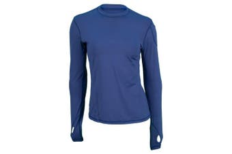 (Small, Navy) - BloqUV Women's 24/7 Athletic Top