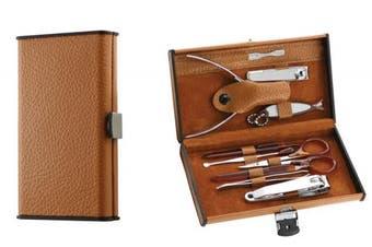 Pure Acoustics 10 Piece Old English Unisex Manicure Kit, 710ml