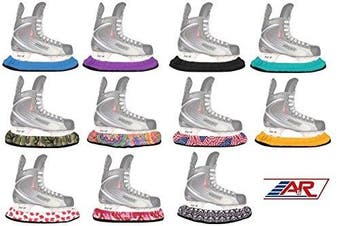 (Skulls) - Tuff Terry Blade Covers For Ice Skates