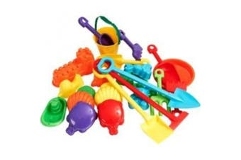 Chad Valley 25 Piece Sand Accessory Set. by Chad Valley
