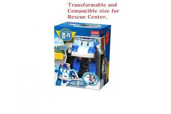 Robocar Poli Mini Transformer - Transformable and Compatible Size for Rescue Centre and other facilities.