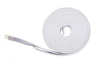 (White, 10 Foot (3m) - 1 Pack) - Extension Cable for Philips Hue Lightstrip Plus (10 ft/3 m, 1 Pack, White)