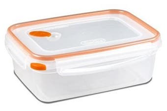 Sterilite 03221106 Ultra-Seal 8.3 Cup Rectangular Food Storage Container - Quantity 4
