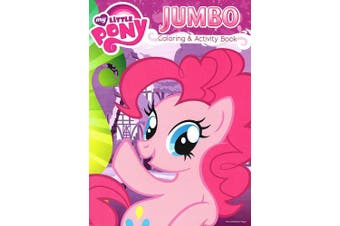 My Little Pony Jumbo Colouring and Activity Book 96 Pages 2pk by Bendon Publishing Intl
