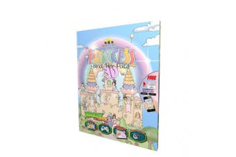 Princess & Her Pals 3D Interactive Book
