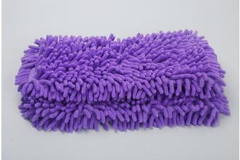 (2, Purple) - HIFROM(TM) Washable Microfiber Mop Pads Replacement Steam Mop Pad For Shark Steam Pocket Mops S3550 S3901 S3501 S3601 (2, Purple)