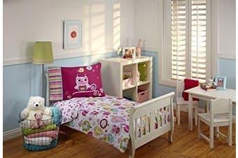 Everything Kids Toddler Bedding Set, Hoot Hoot by Everything Kids