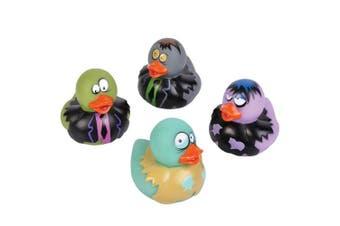 5.1cm Zombie Rubber Duckies (Bulk Pack of 12 Ducks)