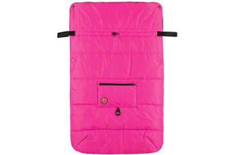 Blue Banana Stroller Blanket - Pink