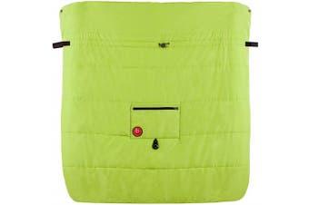 Blue Banana Double Stroller Blanket - Green