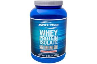 BodyTech Whey Protein Isolate - Strawberry Banana - 1.4kg Powder