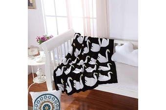(43*130cm , B) - Brandream Red Heart Pattern Knitted Blanket Kids Toddler Blankets Adults Snuggle Blanket 110cm X 130cm