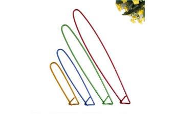 BoNaYuanDa 8pcs Colourful Aluminium Yarn Stitch Holder Crochet Hooks Knitting Needle Stitch Holders