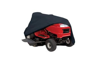 (160cm ) - Classic Accessories 52-147-040401-00 Lawn Tractor Cover, Black, Up to 160cm Decks
