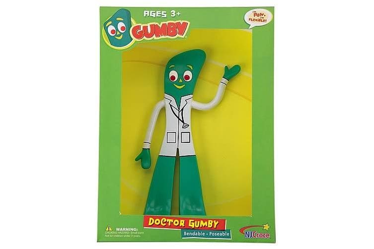 Action Figures - Gumby Dr. Gumby 15cm Bendable Rubber Toys New gpr-124