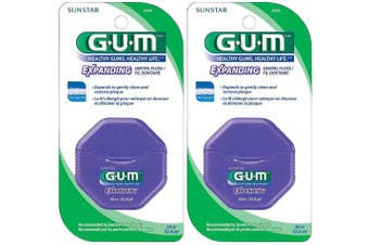 (Pack of 1) - GUM Expanding Floss, 32.8 yds