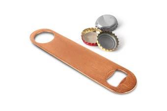 Copper Plated Bar Blade - Bottle Opener, Copper Bar Tools & Equipment, Flair Bar Blade