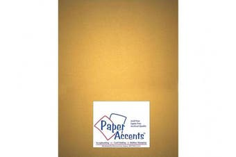 Accent Design Paper Accents ADP8511-5.877 Pearlized 22cm x 28cm Gold Cardstock