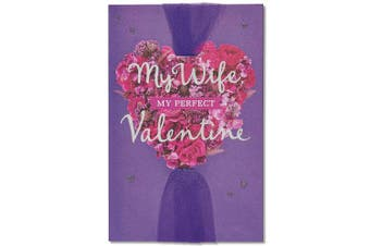 American Greetings Perfect Valentine's Day Card for Wife with Glitter (5815789)