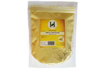 100% Pure Organically Processed Fuller's Earth Clay (Multani Mitti) Bentonite Clay- 0.2kg - 227 gms - 240ml