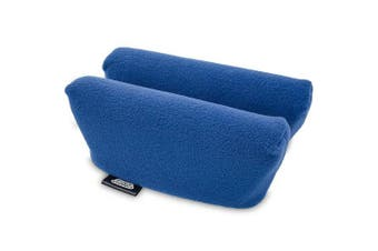 (Royal Blue) - Universal Crutch Underarm Pad Covers - Luxurious Soft Fleece with Sculpted Memory Foam Cores (Royal Blue)