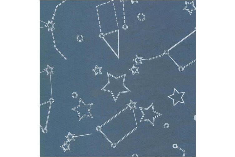 Trend Lab Galaxy Changing Pad Cover, Blue and White