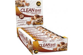 All Stars 60 g Cinnamon Roll Clean Bar High Protein Supplement - Pack of 18