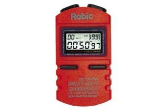 (Orange) - Robic SC-505W 12 Memory Stopwatch