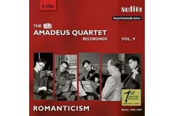 The RIAS Amadeus Quartet Recordings, Vol. 5: Romanticism