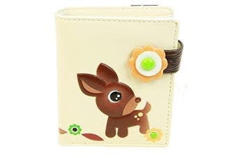 (Woodland Forrest Beige) - Shagwear Young Ladies Wallet, Large Purse: Various colours and designs: (Woodland Forrest Beige)
