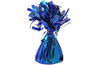 Royal Blue Foil Balloon Weight - Pack of 12
