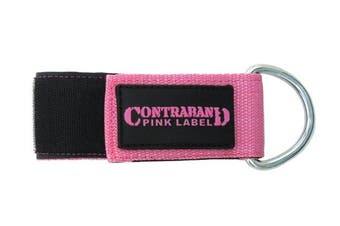 (Pink) - Contraband Pink Label 3037 5.1cm Heavy Duty Nylon Ankle or Wrist Cuff